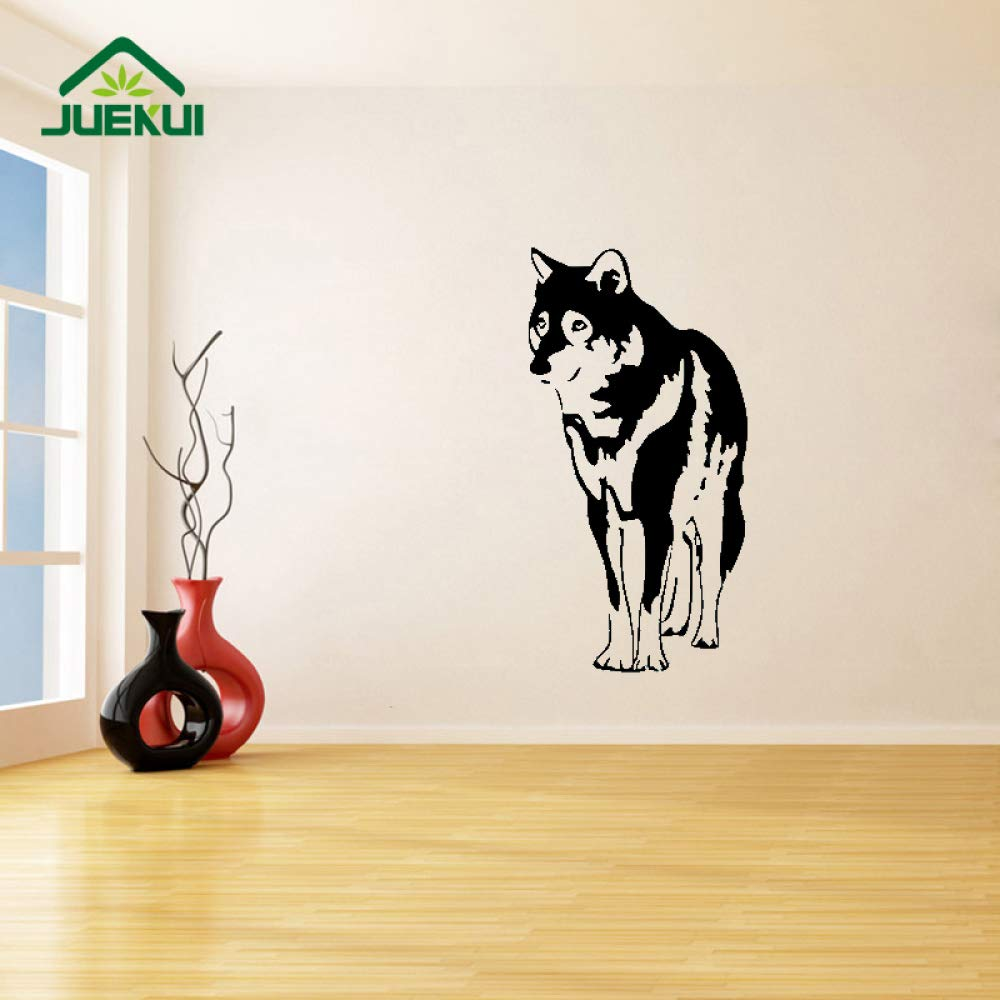 Cartoon Pet Dog Decor Tatuajes de Pared Dormitorio Arte Decoración ...