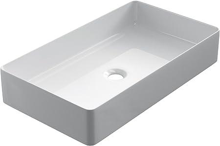Starbath Plus Vasque A Poser Salle De Bain Ceramique Forme