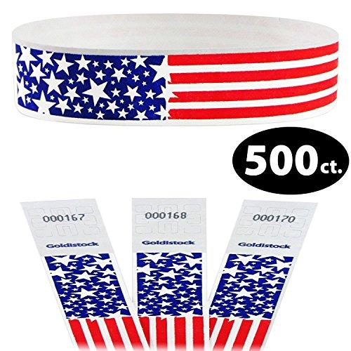 Goldistock Select - Star Burst USA Patriotic Flag - 3/4