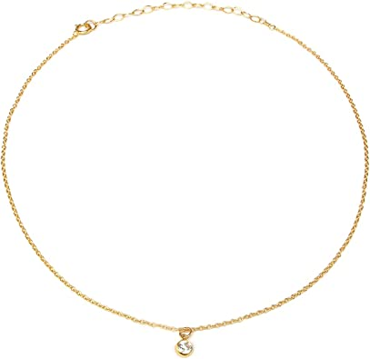 Delicate Necklace Dainty Gold Chain Simple Gold Choker Gold Choker Necklace Gold Chain Choker Silver Choker Simple Dainty Gold Choker