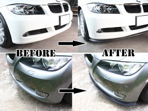 Deltalip Universal Fit Front Lip Bumper Splitter Valance Trim Volkswagen VW All Models