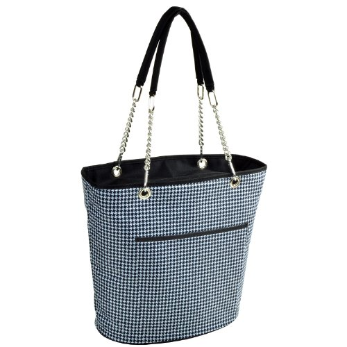 Picnic at Ascot Large Insulated Fashion Cooler Bag – 22 Can Tote – Houndstooth Review