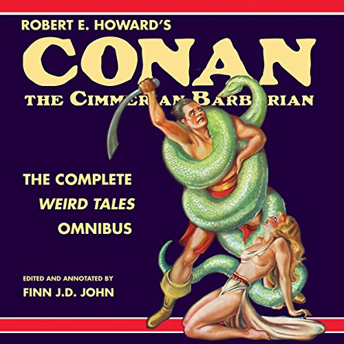Bargain Audio Book - Robert E  Howard s Conan the Cimmerian Ba