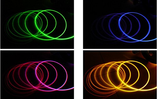 POUR LUTILISER VOU Lumi/ère de c/ôt/é /à fibre optique super lumi/ère flexible de 5/mm de diam/ètre /à fibre optique SISL5 VEUILLEZ NOTER QUE CECI EST SEULEMENT UN C/ÂBLE DE FIBRE OPTIQUE TRANSPARENT