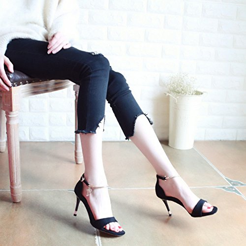 Di alta stile qualità YMFIE alto sexy in a Europeo scarpe tacco wR5qxF