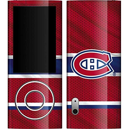 (NHL Montreal Canadiens iPod Nano (5G) Video Skin - Montreal Canadiens Home Jersey Vinyl Decal Skin For Your iPod Nano (5G) Video )