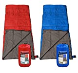GigaTent Kids Sleeping Bags - Party Bundle - 2 Count - 2 Colors