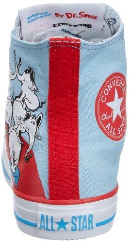Bleu red Lacets Converse Adulte Sport Lifestyle Mixte Blue white EgwHX0qHx