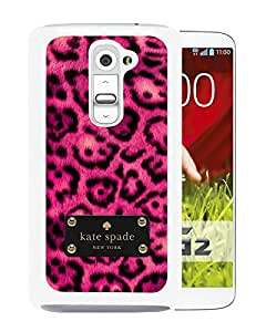 Kate Spade Cover Case For LG G2 White Phone Case 209