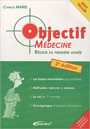 Amazon Fr Objectif Medecine Reussir Sa 1re Annee