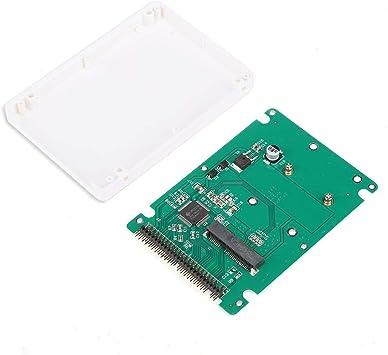 Caja de Disco Duro, Caja de Disco Duro SSD mSATA a IDE Interfaz ...