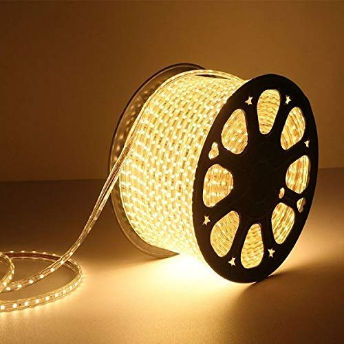 Gesto 5 Meter LED Rope Light Pipe Light (Warm White) Decorative Light, LowPrice Festiveal, Ceiling Light, Home,Office…