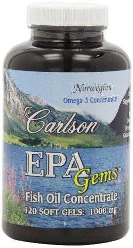 Carlson Epa Gems 120 Softgels