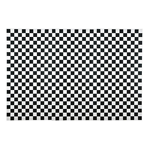 Race Car Checkered Flag Birthday Backdrop Banner 3 Pieces (9FT x 6FT) (Race Car Flag)