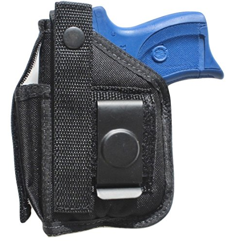 Holster for Ruger LC9, LC9s & LC380 with Underbarrel Laser Mounted on gun