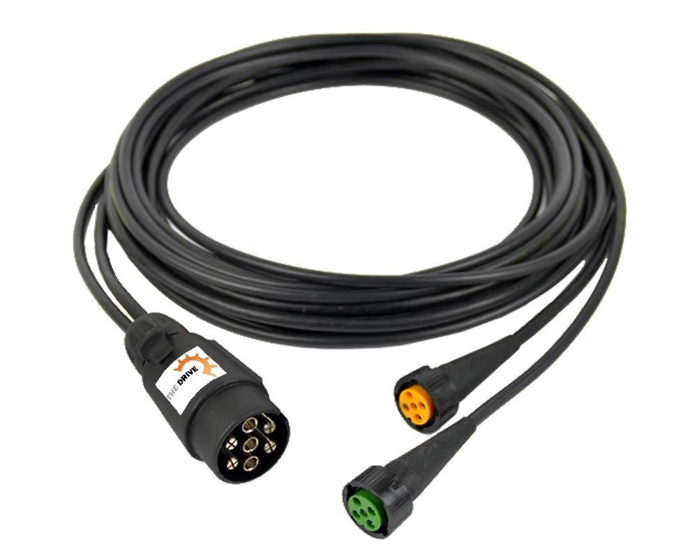 Clever Fahrzeugstecker 7 Polig Adapter Auf 13 Polig Alte Berufe Geräte
