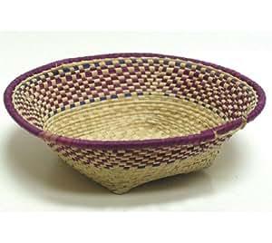 "8"" Hand Woven Fulani Basket"