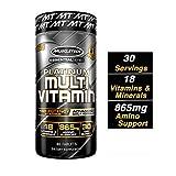 MuscleTech Advanced Daily Multivitamin for Men & Women, Includes Amino Acids, 18 Vitamins