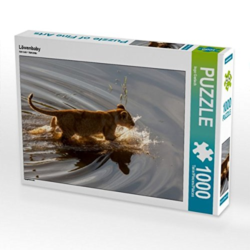 Löwenbaby 1000 Teile Puzzle Quer