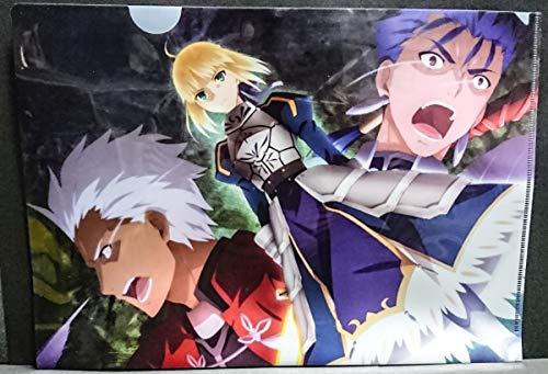 Fatestay night セイバー アーチャー ランサー クリアファイル コミケ コミック ラノベ ゲーム 同人 アニメ グッズ CF1