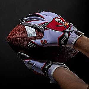Franklin Sports NFL Team Licensed Youth Football Receiver Gloves (Pair)