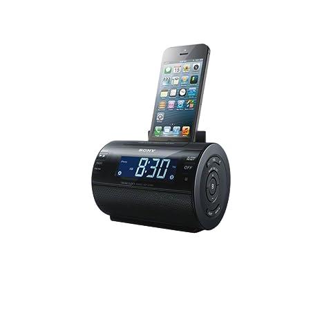 Sony - Radio (Reloj, Digital, AM, FM, 0,8W,