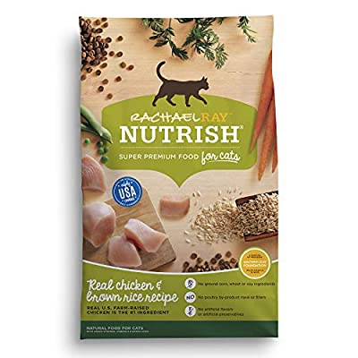 Cat Food Rachael Ray Nutrish Real Chicken & Brown Rice Recipe Dry... [tag]