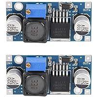 2PCS XL6009 DC-DC Adjustable Step-up Boost Power Converter Module 4Amp Output