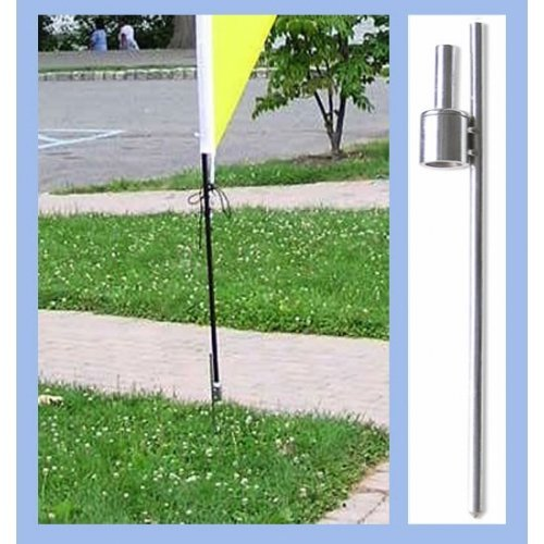 Annin Flagmakers 674 Rotating Mounting Kit for 10 ft. Teardrop or 13 ft. Sun Blade Banners