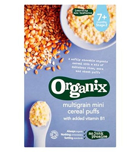 Organix Multigrain Mini Puffs 90G - Pack of 2 by Organix