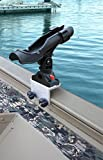 Brocraft Power Lock Rod Holder for Tracker Boat Versatrack System-Versatrack Accessories/90 degree Lund Sport Track