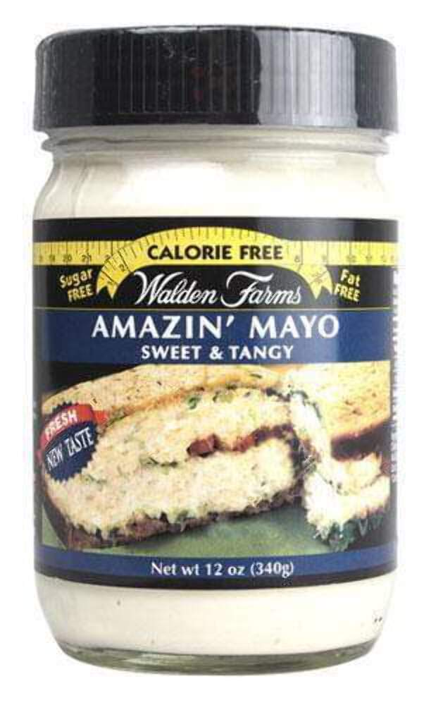 Walden Farms Amazin' Mayo - Sugar Free, Calorie Free, Fat Free, Carb Free, Gluten Free - 1 Bottle