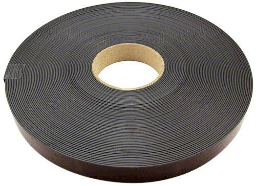 Magnet Expert 25mm wide x 1.5mm thick Magnetic Tape with Premium Self Adhesive - Polarity B ( 1m Length )