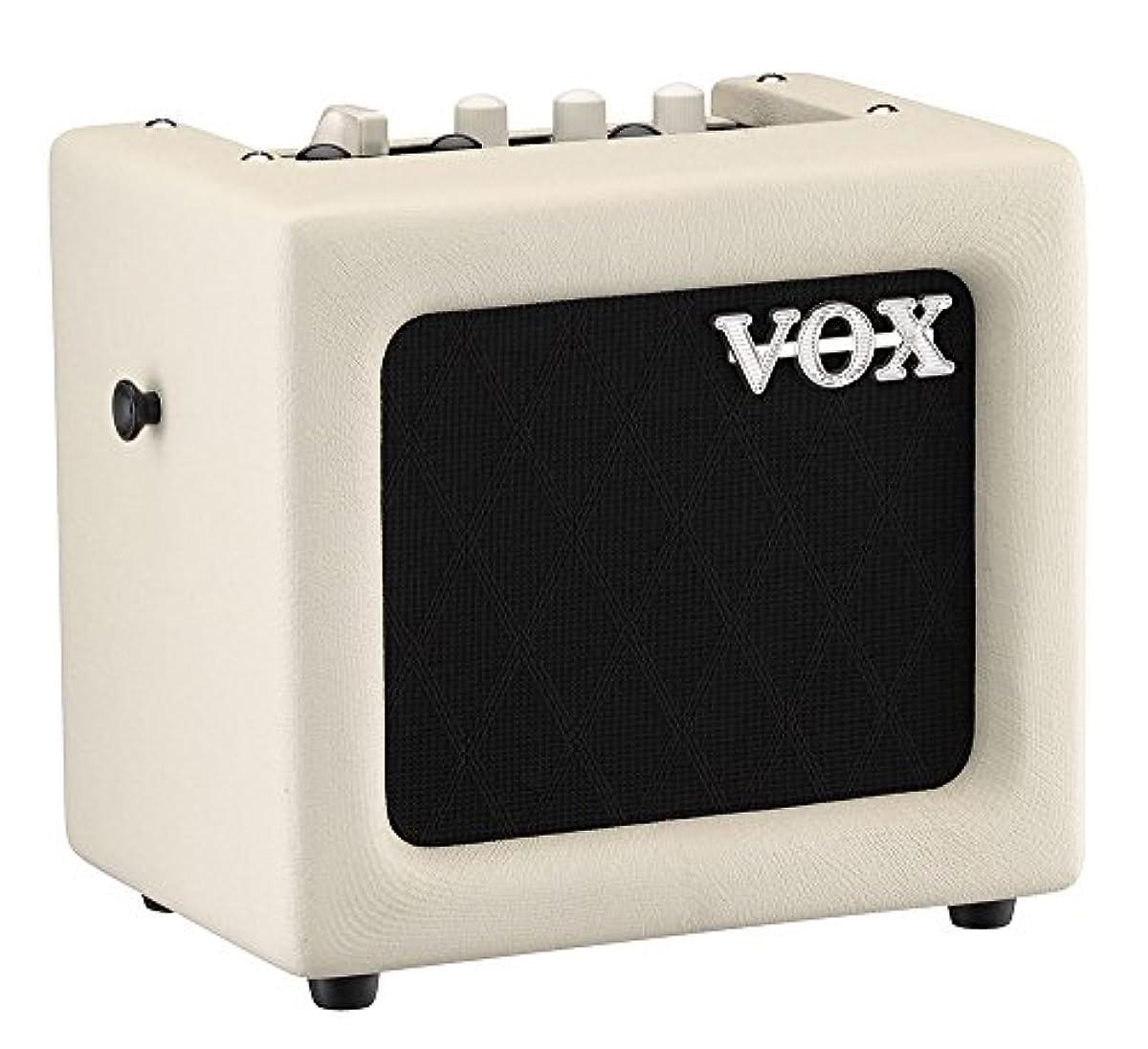 [해외] VOX 기타용 모델링 앰프 MINI3-G2 IV 아이보리리 자택 연습 스트리트에 최적 운반 전지 구동 마이크 입력 MP3접속 헤드폰 사용가 3W