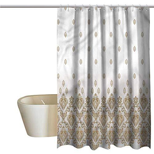 (Denruny Shower Curtains Desert Victorian,Vintage Romantic Art,W48 x L72,Shower Curtain for clawfoot tub )