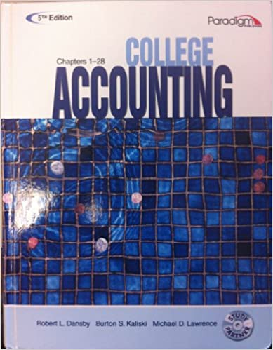 Amazon college accounting text chapters 1 28 with study college accounting text chapters 1 28 with study partner cd 5th revised edition edition fandeluxe Images