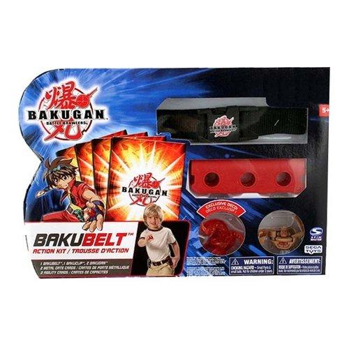 Bakugan Battle Brawlers Game Exclusive BakuBelt Action Kit (Includes 2 Figures!)