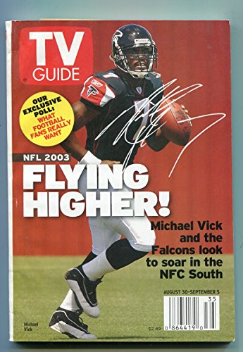 tv-guide-august-30-september-5-2003-qb-michael-vick-atlanta-ed-vg