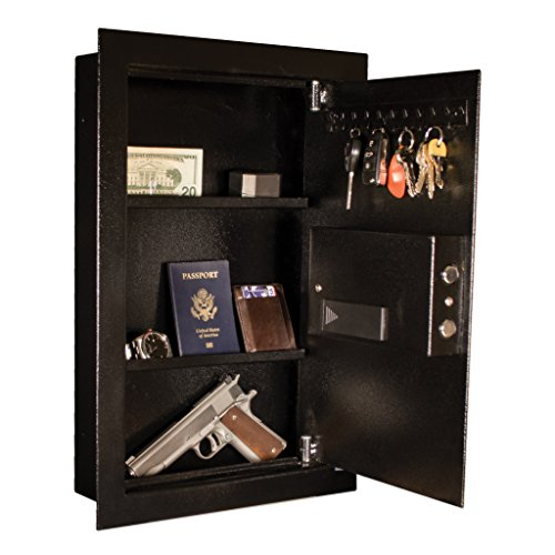 Tracker Safe WS211404-E Steel Wall Safe, Electronic Lock, Black Powder Coat Paint, 0.60 cu. ft. by Tracker Safe (Image #4)