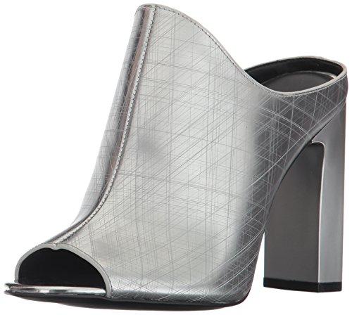 Calvin Klein Women's Maera Slide Pump, Dark Silver, 9.5 M US by Calvin Klein