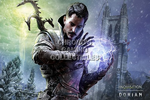 Dragon Age CGC Huge Poster Inquisition Dorian - PS3 PS4 Xbox 360 ONE - DAI007 (16
