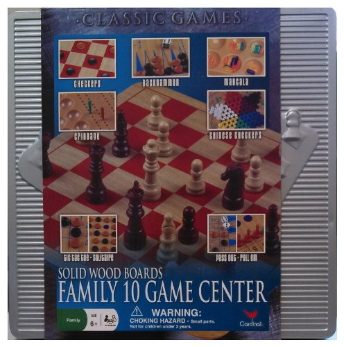 10-Game Ctr In Alum Case - Ctr Box