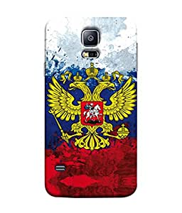 ColorKing Football Russia 29 Multi Color shell case cover for Samsung S5