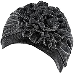 Women's Knotted Turban Hat Hair Loss Head Wrap Cap Chemo Cap Cancer Cap Fashion Slouchy Hats for Women
