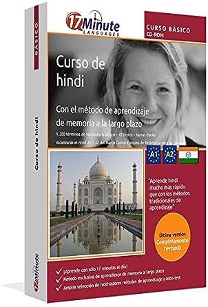 Curso de hindi para principiantes (A1/A2): Software compatible con Windows/Linux/Mac OS X. Aprende hindi con el método de aprendizaje de memoria a largo plazo: Amazon.es: Software