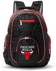 NBA Chicago Bulls Colored Trim Premium Laptop Backpack