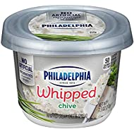 Philadelphia Chive Whipped Cream Cheese Spread, 7.5 oz Tub