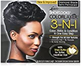Best Hair Relaxer For Black Hairs - Luster's Shortlooks Color Relaxer 3-n-1 Diamond Black Review