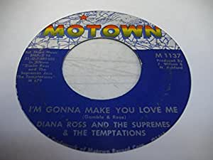 DIANA ROSS AND THE SUPREMES & THE TEMPTATIONS 45 RPM I'm Gonna Make You Love Me / A Place In the Sun