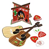 Talking Tables Christmas Entertainment Hum and Strum Air Guitar Party Game, Multicolor